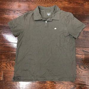 Banana Republic Polo Shirt Dark Safari Green XL